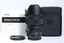 SIGMA Art 35mm / 1:1.4 DG, für Sony A-mount Sony Alpha, 1 Jahr Gewährleistung