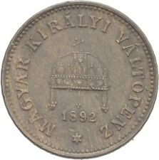 Österreich Ungarn Kremnitz Filler 1892 KB 1.7 g #XAU83
