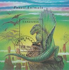 Tanzania/tanzania nº bl. 250 (1774) dimetrodon