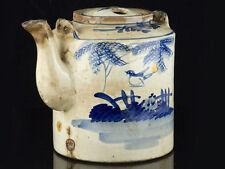 Unboxed Decorative Oriental Pottery Tea Pots