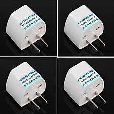 EU Europe Euro UK to USA US AC Travel Charger Power Adapter Converter Wall Plug
