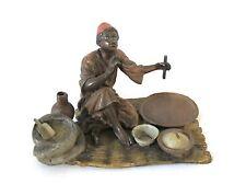 Antique Vienna bronze arab merchant (#955)