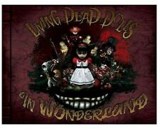 Mezco Living Dead Dolls Alice In Wonderland First Book Hardcover Limited Edition