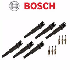 6 OEM BOSCH Ignition Coils + 6 Spark Plugs kit BMW 2006 3 5 Series Z4 3.0i 3.0si