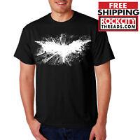 BATMAN DARK KNIGHT T-SHIRT Joker Robin Comic Symbol DC Comics Shirt USA Bane