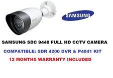SAMSUNG SDC 9440BU 1080p CCTV Camera CompatiblitySDR 4200 DVR or SDH P4021 Kit