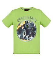 How to Train Your Dragon Boys Kids Children T-shirt Top Tshirts Tee Green