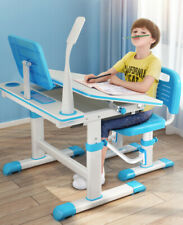 """32""""X24"""" Adjustable Height Study Desk & Chair Set Home/School for Kids Childrens"""