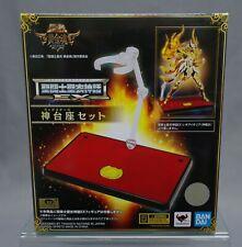 Saint Seiya Myth Cloth EX God Stage Set Display Stand Soul of Gold Bandai NEW***