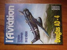 $$6 Revue Le Fana de l'Aviation N°267 Musee Anchorage  DH II2 Venom  Douglas AD4