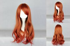 Ladieshair Cosplay Wig Perücke rotmix lolita 65cm Karneval Halloween F7T