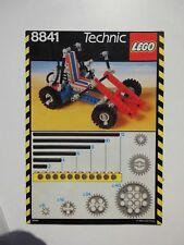 Bauanleitung - LEGO - Technik Dune Buggy 8041