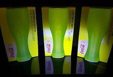 Mc Donalds Coca Cola Gläser, Ltd. Edition 2017! FARBEN: 3x NEON GELB