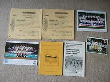 media team changes sheet to programme oldham v barnsley 3/12/83