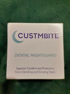 Lot/2~CUSTMBITE Dental Nightguard~Protection From Clenching & Grinding Teeth NIB
