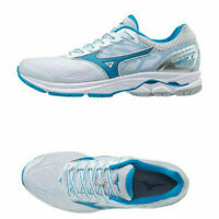 Mizuno WAVE Rider 21 Men's Running Shoes Sport White Marathon Walking J1GC180304