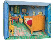 TATEBANKO Kit per diorama giapponese La camera di Vincent ad Arles di Van Gogh