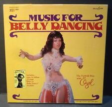 "Ozel Turkbas Music Belly Dancing 12"" 3 LP Box Set Murray Hill #944332 w/booklet"