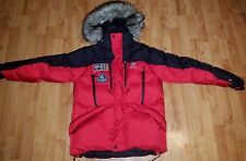 Polo Ralph Lauren RLX Fur Parka Ski Expedition 650 Down Puffer Jacket Coat Small