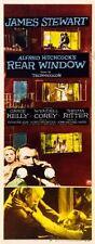 Rear Window Movie Poster Insert 14inx36in 36cmx92cm Hitchcock Replica