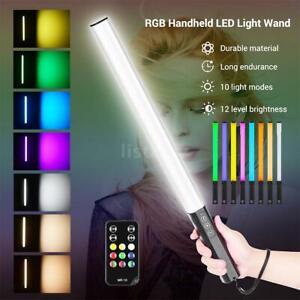LIYADI RGB Handheld LED Light Wand Rechargeable Photography Light Stick 10 Modes