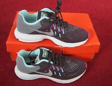 NIKE WOMENS ZOOM WINFLO 2 FLASH SIZE 4.5 PURPLE REFLECT SILVER RUNNING TRAINER