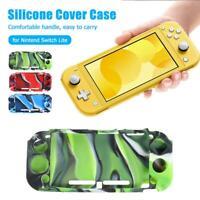 Silicone Shell Protective Case Non-slip Grip Case Cover for Nintendo Switch Lite