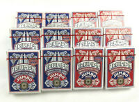12 Decks of Jumbo Size Triumph Playing Cards MADE IN USA Poker Game Blue Red NEW