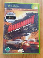 Xbox-Burnout: Revenge-très bon état complet Microsoft XBOX