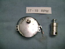 17 - 19 Rpm Dryer-Drying Motor with Shaft Coupler