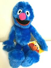 Large 16'' Sesame Street Grover Plush Toy. Blue Soft Licensed Toy. New.2019