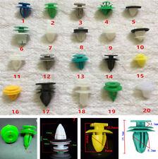 100Pcs 20 Arten Mixed Fastener Auto Stoßstange Türverkleidung Kunststoff Nieten