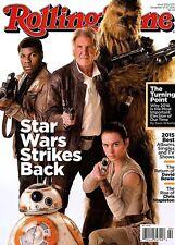 Rolling Stone Magazine #1250 12/17-12/31/2015 music STAR WARS THE FORCE AWAKENS