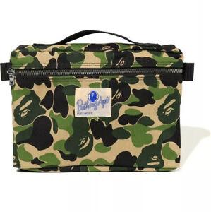 A Bathing Ape Bape ABC Music Pouch Bag Travel Bag Backpack Sidebag