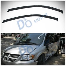 2pc Front Sun/Rain Guard Vent Shade Window Visor Fit Dodge/Chrysler/Plymouth Van