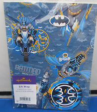 Batman wrapping paper - Gift Wrap 2 sheets 49cm x 70cm  Bat Man