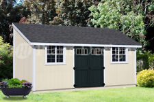10' x 20' Outdoor Structure Building / Storage Shed Plans, Lean To #D1020L