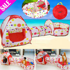 Foldable Kids Portable Pit Tunnel Ball Pool Outdoor Indoor Baby Tent Playhouse
