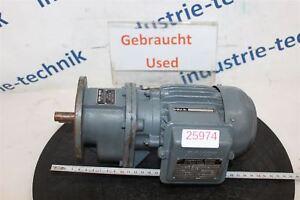 Bauer 0,15 Kw 104 Min Gear Motor Dkf 5406/143 L Gearbox