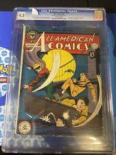 Action Comics 34 D.C Comics Cgc 4.5