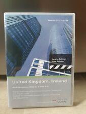 TELEATLAS DX 2014 FOR MERCEDES AUDI BLAUPUNKT DX SAT NAV DISC UK NAVIGATION CD