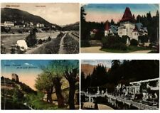 ROMANIA 68 Vintage Postcards ALL POOR CONDITION