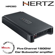Hertz HCP5D Five Channel Class D Car Amplifier Subwoofer Amp 1500Watt