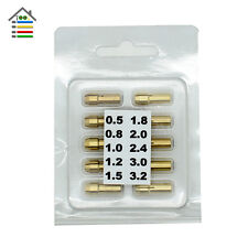 10pcs Brass Drill Chuck Collet Bits 0.5-3.2mm 4.8mm Shank Rotary Tool for Dremel