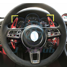 Red Gear Accessories Steering Wheel Shift Paddle Lever For Porsche 911 Carrera