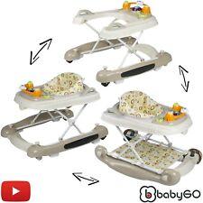 Lauflernhilfe Walker Lauflernstuhl Lauflernwagen Gehfrei Laufhilfe 4in1 BabyGo