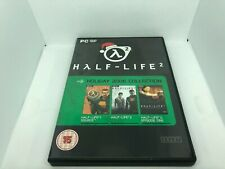 Half-Life + Half Life 2 + Episode 1 2006 Holiday Collection limited edition mint