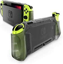 Mumba For Nintendo Switch Console Joy-Con Grip Case Shock-Absorbent TPU Cover US