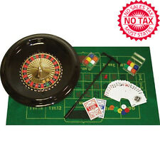 Poker Game Table Accessories Deluxe Roulette Set Casino Blackjack Party 16 Inch