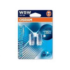 OSRAM COOL BLUE INTENSE W5W Parking Lights 3600K - CAR HEADLIGHTS/BULBS/GLOBES